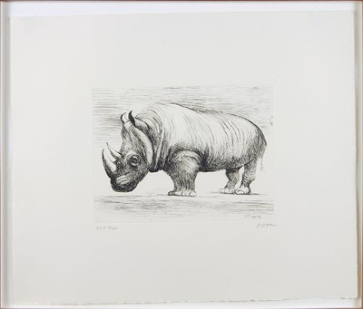 Henry Moore-Rhinoceros-