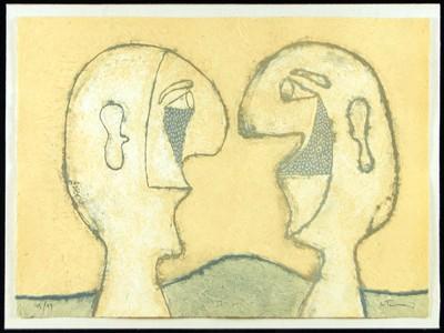 Rufino Tamayo-Dos Personajes-1979
