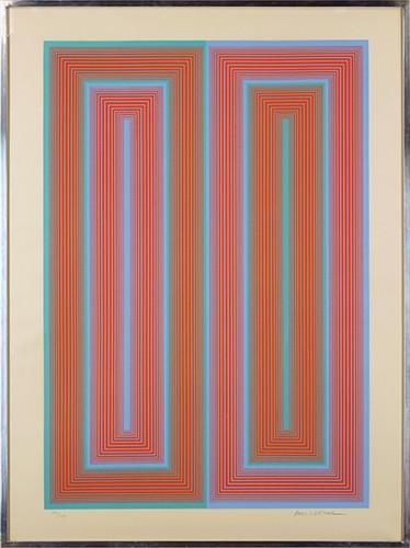 Richard Anuszkiewicz-Untitled from the 'Peace Portfolio'-