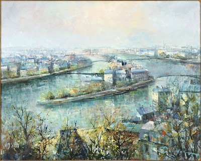 Lucien Delarue-La Seine-