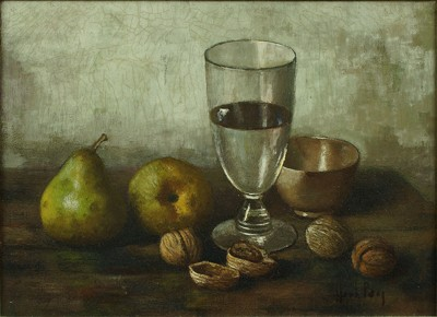 Henk Bos-Pears, Walnuts and Glass-