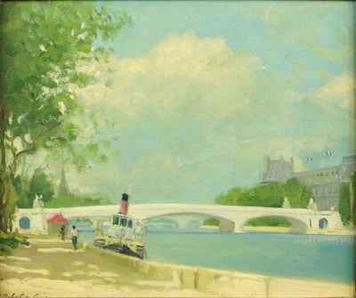 Henry Robertson Craig-By The Seine-