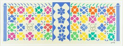 Henri Matisse-After Henri Matisse - Large Composition With Masks-1953