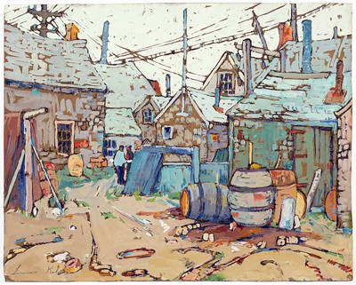 Irma Koen-Fish Houses at Rockport-