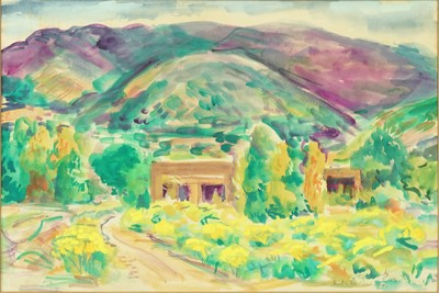 Morris Topchevsky-Santa Fe, New Mexico-1943