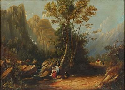 A. McPherson-Highland Scene-