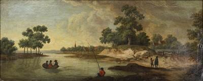 English School - A Riverscape-