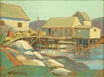 M.P. Mathewson-The House on Stilts-