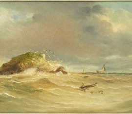 James Sim-Off The Calf of Man-1881