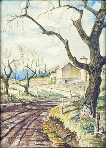 James Cline-Farm Road-1967