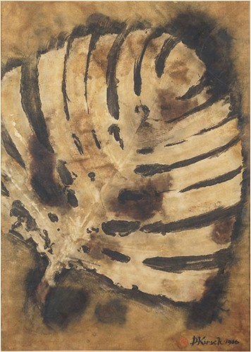 Dwight Kirsch-Untitled Leaf-1966