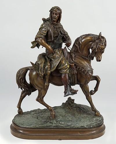 Emile Coriolan-After Emile Coriolan - Rider on Horseback-