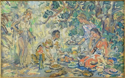 Artist Unknown - Study for a Picnic-