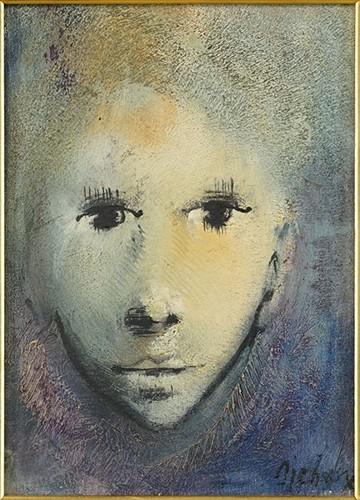 Michelle Michaux-Portrait of a Female-1960