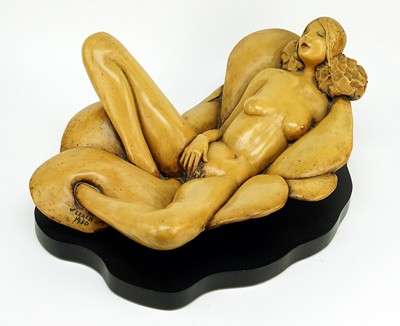 J. Leach-Recumbent Nude-1980