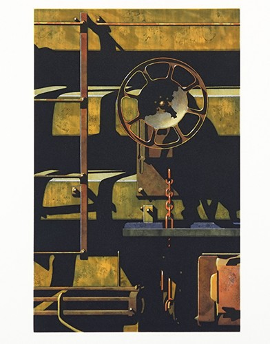 Robert Cottingham-Rolling Stock, For Jesse-