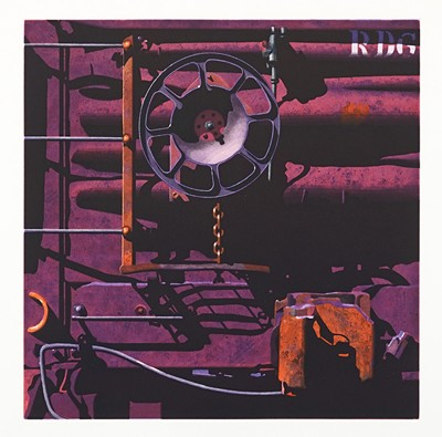 Robert Cottingham-Rolling Stock, For Trish-