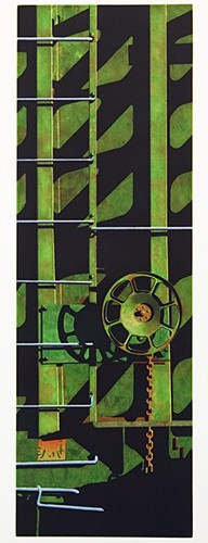 Robert Cottingham-Rolling Stock, For Chuck-1992