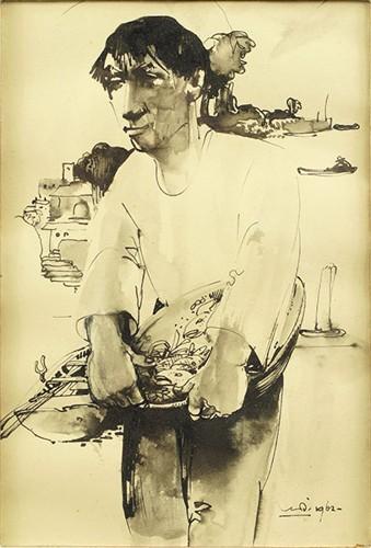 Willem Van Den Berg-Fisherman-1962