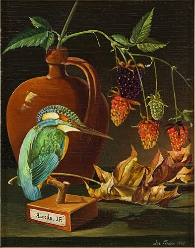 Joseph Fischer - Still Life With Kingfisher-1940
