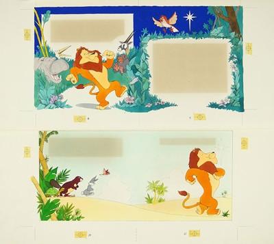 Artist Unknown - Uno the Lion-
