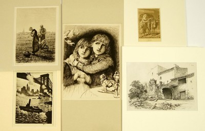 A Collection of 19th and 20th Century Prints-