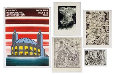 Roger Brown-After Roger Brown - Chicago International Art Exposition-1986