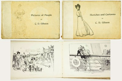 Charles Dana Gibson-After Charles Dana Gibson - 'Sketches and Cartoons' and 'Pictures of People'-1898