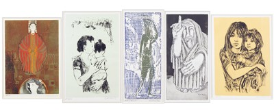 A Collection Of 20th Century Prints-