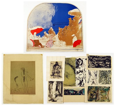 A Collection of 20th Century Works on Paper-1998