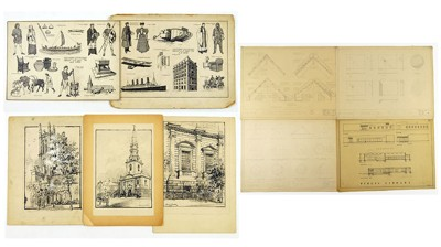 A Collection of 20th Century Works on Paper-1942