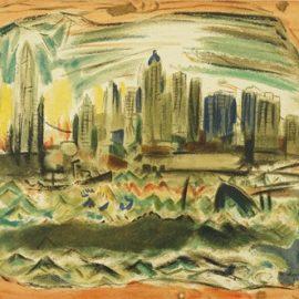 John Marin-After John Marin - New York-1921