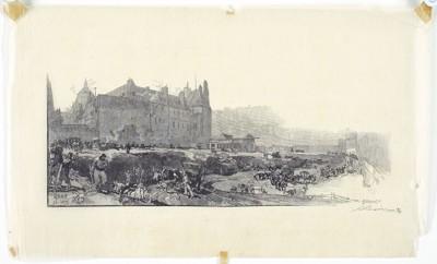 Auguste Lepere-Paris Scene-