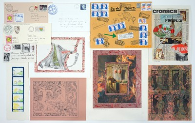 A Collection Of Mail Art-