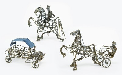 Vannoy Streeter-Three Wire Sculptures-