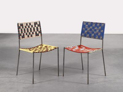 Franz West-Onkelstuhle (Uncle Chairs)-2005