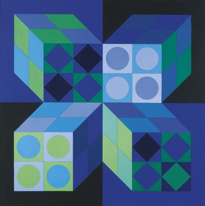 Victor Vasarely-Lapidaire-1971