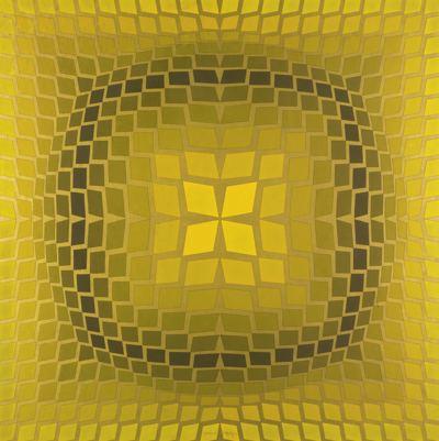 Victor Vasarely-Orquasar-1971