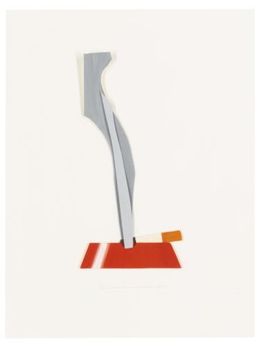 Tom Wesselmann-Smoking Cigarette In Ashtray-2000