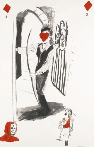 Karen Kilimnik-A Touch Of Brimstone-1994