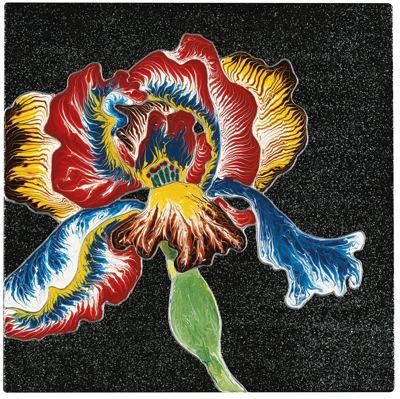 Raqib Shaw-Iris-2002