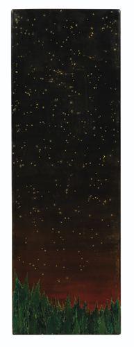 Fred Tomaselli-Yosemite Nocturne-1992