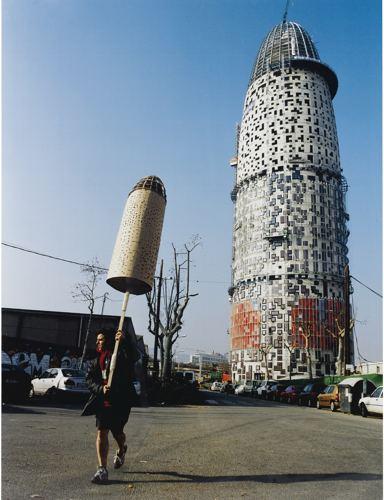 Jordi Colomer-Anarchitekton Barcelona (Torre Agbar)-2004
