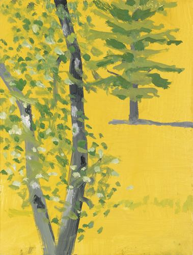 Alex Katz-Trees-2002