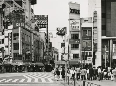 Thomas Struth-In Front of Shinju-ku Station-1986