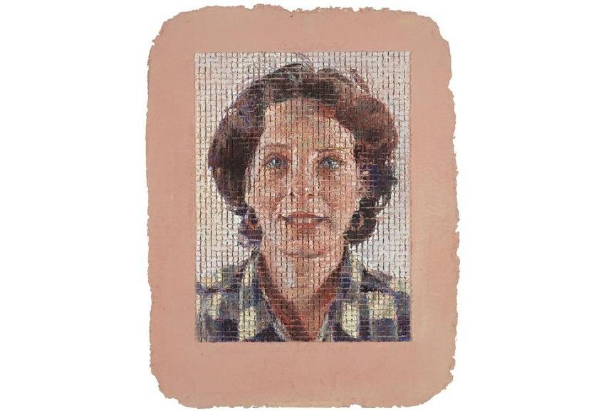 Leslie, Pastel, 1985