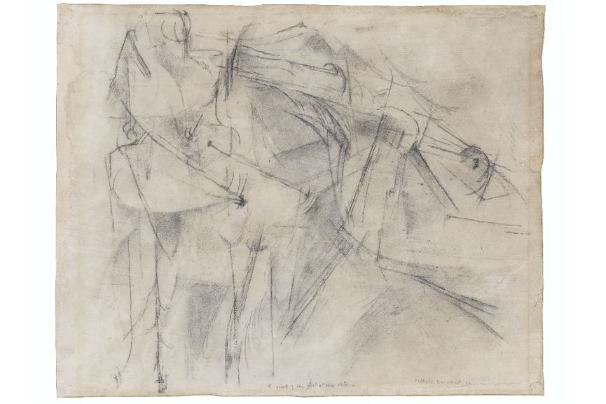 Marcel Duchamp 2 Nus Un Fort Et Un Vite