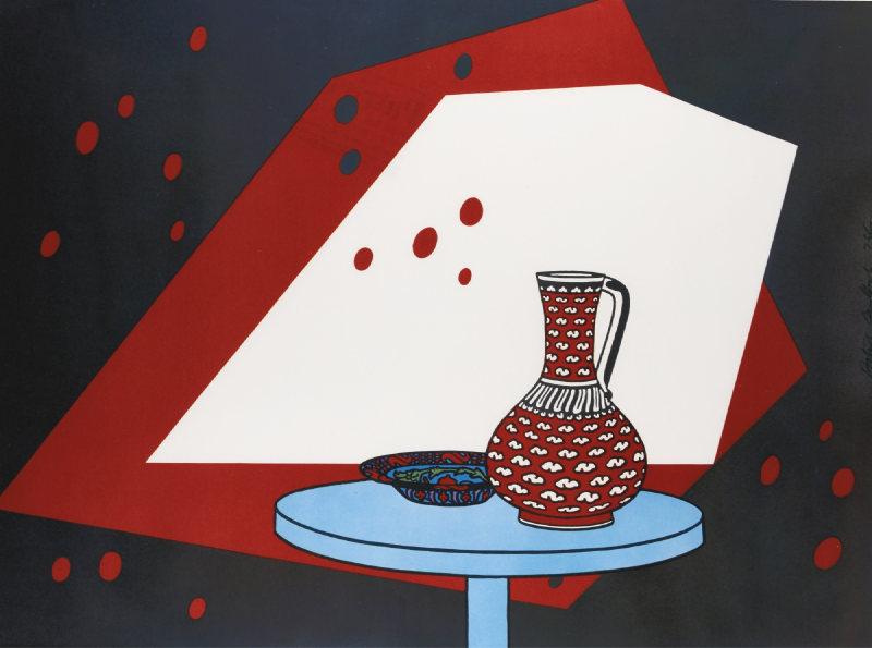 Patrick Caulfield-Still Life (Not In Cristea)-1966