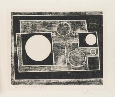 Ben Nicholson-5 Circles (Cristea 7)-1934