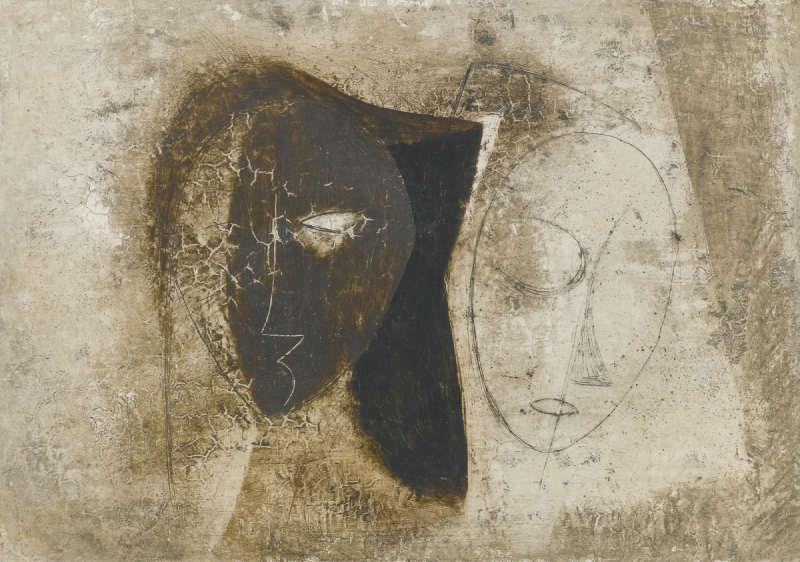 John Wells-Two Heads-1949
